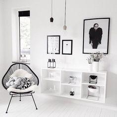 decor black + white!