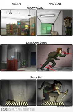 Real Life / Video Games