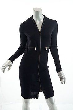 50f7c1c520e Saint Laurent short dress Black Ysl Yves on Tradesy Sweater Dresses,  Sweater And Shorts,