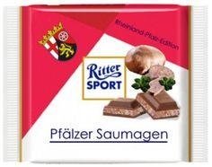 RITTER SPORT Fake Schokolade Pfälzer Saumagen