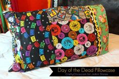 Day of the Dead Pillowcases