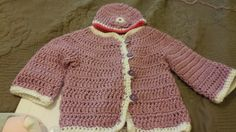 This Super Fast Baby Cardigan can be worked up in just two and a half hours and will look adorable on your little one. The crochet baby cardigan can be worn by little boys and little girls; just use the appropriate crochet colors. The simplicity of the design makes it an elegant one, but you can add embellishments if you wish. The half double crochet and double crochet stitches are used throughout the cardigan. Size fits babies six to 12 months.