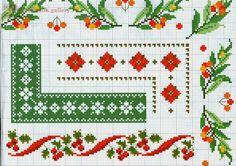 ru / Zdjęcie nr 26 - A Punto croce Straż graniczna. Cross Stitch Boarders, Xmas Cross Stitch, Cross Stitch Flowers, Cross Stitching, Cross Stitch Embroidery, Embroidery Patterns, Cross Stitch Patterns, Christmas Embroidery, Christmas Cross