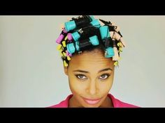 1940's Inspired TWA Party Hair Tutorial
