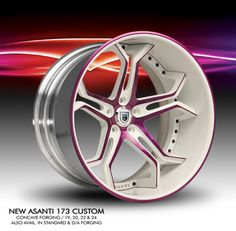 Asanti 173 with custom color