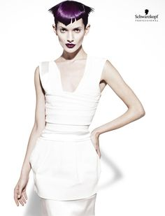 White Angles Collection (Short). Essential Looks Spring-Summer 2013. Schwarzkopf Professional.-pin it by carden