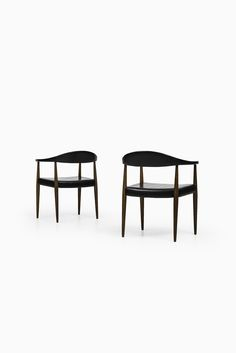 Pair of armchairs produced by ASKO at Studio Schalling