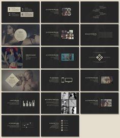 Yves - Elegant Presentation by Tugcu Design Co. on @creativemarket Powerpoint Poster Template, Simple Powerpoint Templates, Creative Powerpoint, Presentation Deck, Business Presentation, Presentation Templates, Graphic Design Brochure, Ppt Design, Design Ideas