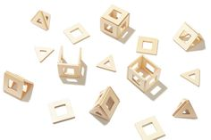 Geometric Magnetic Toys For Creative Play - Design Milk
