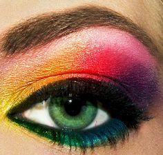 Eyeshadow rainbow, Eyeshadow rainbow