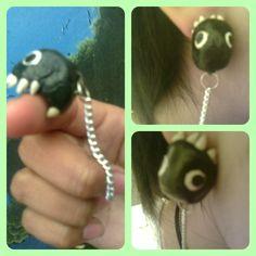 chomp earrings !!!! <3 <3<3