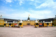 A great stop as you explore the region, here are a few things that set Karlsruhe, Germany apart. Travel Inspiration, Palace, Louvre, Germany, Explore, Mansions, 90th Birthday, Posts, Colorful