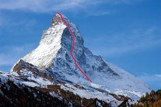 La parete nord del Cervino affrontata in solitaria invernale Zermatt, Mountaineering, Climbers, Trekking, Mount Everest, Survival, Mountains, Travel, Outdoor