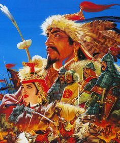 Genghis Khan Mongolia, Pc Engine, Genghis Khan, Old Video, Old Games, Game Design, Cover Art, Game Art, Cover Design