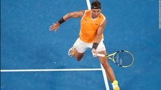 As one of the brawniest, fittest tennis players to ever play the game, Rafael Nadal will, for some fans, forever be considered someone who wins simply by chasing balls and outlasting opponents. Tennis Clubs, Tennis Players, Tennis Racket, Rafael Nadal, Roger Federer, Osaka, Tennis Videos, Nadal Tennis, Tennis Lessons