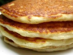 Quick Sourdough Pancakes Recipe - Food.com.  Try half recipe.  Experimenting with freezing left over batter to see if it revives.