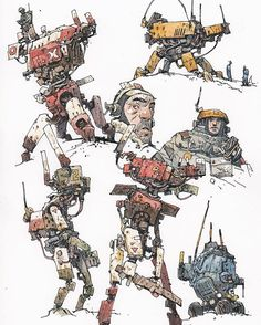Ian McQue, Just added some original art to my store; http://ianmcque.bigcartel.com/ This sort of thing -