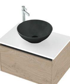 Sfera Matte Black Basin, Ceramic, Vessel | St Michel Bathroomware Basins, Garden Pots, Matte Black, Ceramics, Home Decor, Ceramica, Garden Planters, Pottery, Decoration Home