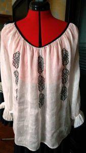 bluza-alba-brodata-1 Long Sleeve, Sleeves, Tops, Women, Fashion, Moda, Long Dress Patterns, Fashion Styles, Fashion Illustrations