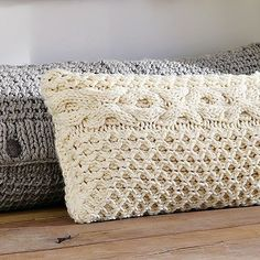 I think I'll pick up some sweaters at a thrift store and try making some sweater pillows.