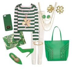"""St Pats and Stella & Dot"" by kmathews62 on Polyvore featuring CAbi, Stella & Dot, Marni, Fiorangelo, Michael Kors and Bling Jewelry"