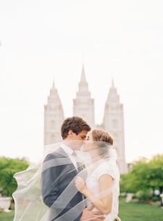 Dainty White Utah Wedding | Real Weddings | OnceWed.com
