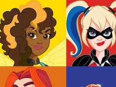 Which DC superhero girl are you most like?   PlayBuzz