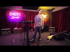 Beardyman is one of UK's best improv beatboxers and a good comedian to boot....