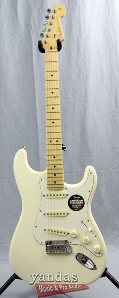Free Hard Case Included. Guaranteed Lowest Price. Fast and Free Shipping. Fender American Standard Stratocaster Electric Guitar Now Available. YandasMusic.com - You