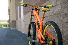 Agent Orange 951 Intense Foxxer! - DJCARY's Bike Check - Vital MTB