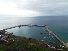 Porto do Porto Santo num dia especial
