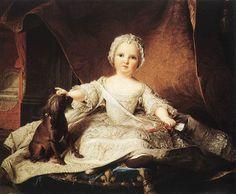 Madame Maria Zeffirina, 1751  Jean-Marc-Portrait NATTIER