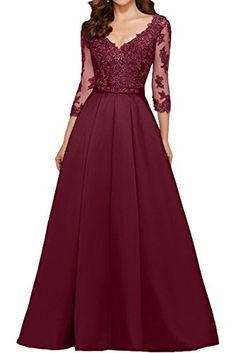 da10937dc7aaa online shopping for OYISHA Womens Sleeve Long Appliqued Prom Dress A-Line  Party Gown Beaded from top store. See new offer for OYISHA Womens Sleeve  Long ...
