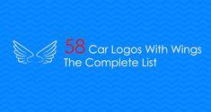 Car Logo With Wings, All Car Logos, Car Symbols
