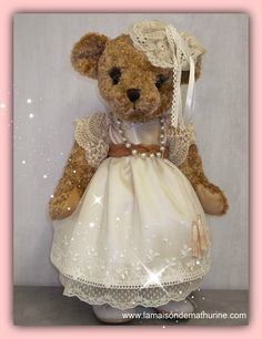 Constance bears, beautiful precious, 45 cm - adopted -