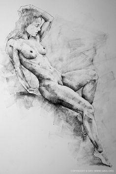 full body portrait drawing - Google Search