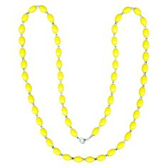 Beaded Necklace - Yellow from Target $17