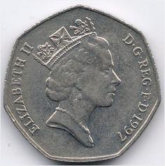 United Kingdom 50 Pence 1997 op eBid België