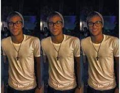 He is so cute with glasses