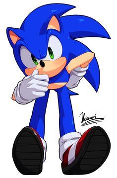 Sonic by Myly14 on DeviantArt