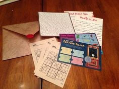 I Solemnly Swear That I Am Up To No Good: Open When... Letters Pre-made Kit