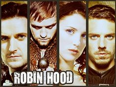BBC's Robin Hood. Here's everyone me and my sister are obsessing over:D