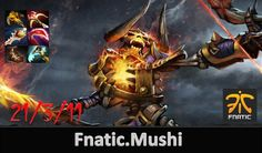 Dota 2 Pro Fnatic Mushi Plays Clinkz Ultra Kills in Ranked Match