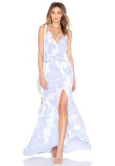 ece79644c258b Karina Grimaldi Draco Maxi Dress em Periwinkle Stone | REVOLVE