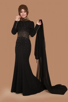 C.M.N - Evening Dress Black MSW8127 (1)