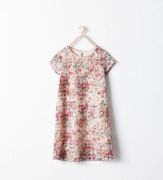 Image 1 of FLORAL PRINT DRESS from Zara