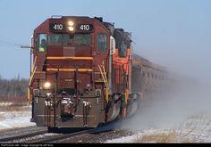 RailPictures.Net Photo: DMIR 410 Duluth, Missabe & Iron Range Railway SD40-3 at Zim, Minnesota by Jeff Terry