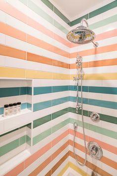 Craftsman Bathroom, Fireclay Tile, Design Case, Bathroom Interior, Bathroom Tiling, Washroom, Bathroom Inspiration, My Dream Home, Tiny House
