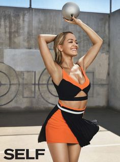 Rita Ora in Swimsuit – SELF Magazine December 2015