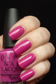 My favorite colour for my toes. Is it Pink is it Purple... I think it's just perfect.